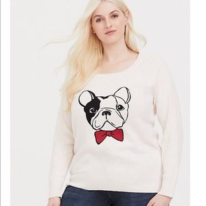*TORRID* French is sweater